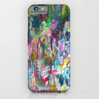 iPhone & iPod Case featuring REM white noise by The Bun