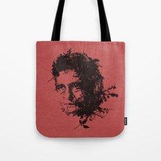 Johnny Cash botanical portrait Tote Bag