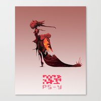 PS- Y design Canvas Print