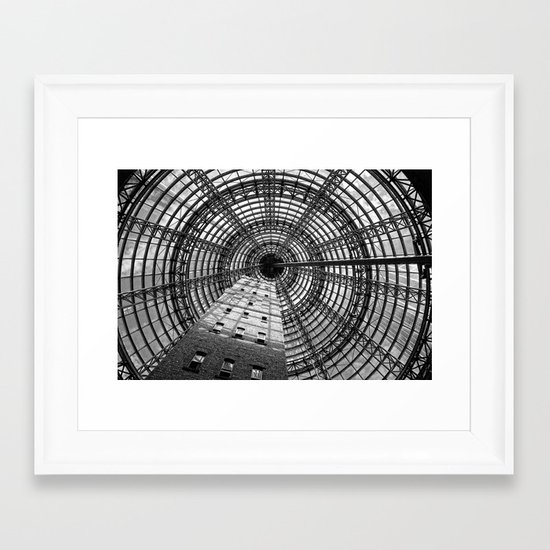 To The Point Framed Art Print