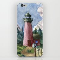 Cozy Lighthouse iPhone & iPod Skin