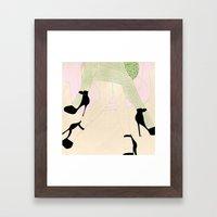 Women Sketch Framed Art Print
