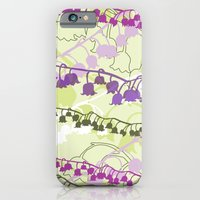 iPhone & iPod Case featuring Layered Lily by Katy Clemmans