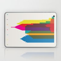 Shapes of Atlanta. Accurate to scale Laptop & iPad Skin