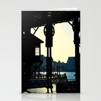 Long Island Pier Stationery Cards