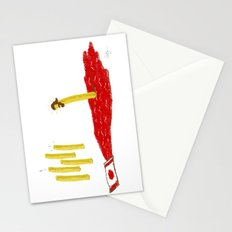 Lord of the Fries Stationery Cards