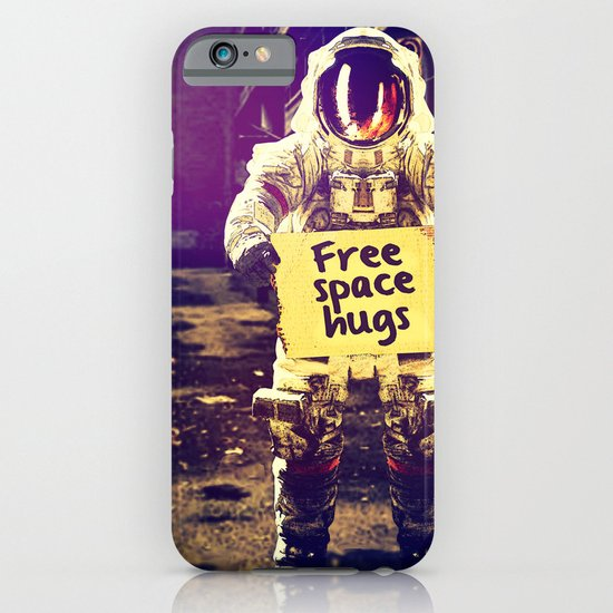 Space hugs iPhone & iPod Case
