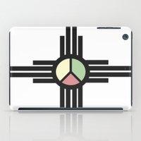 rotes auge iPad Case