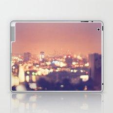 Everyone's a Star. Los Angeles skyline at night photograph. Laptop & iPad Skin