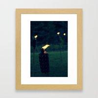 Tiki Framed Art Print