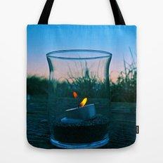 Seaside flame Tote Bag