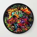 Just another day in the jungle Wall Clock
