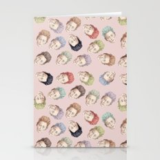 Tilda Heads And Hair Col… Stationery Cards
