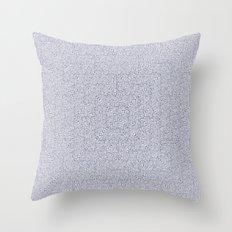 Bardarbunga Silver Throw Pillow