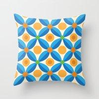Citrus: Orange Grove Throw Pillow