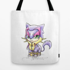 The Purr-fect Disguise Tote Bag