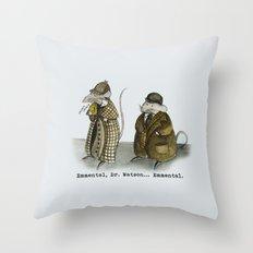 Sherlock Holmes wisdom Throw Pillow