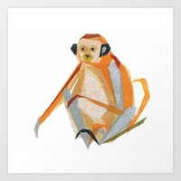 Charlie Monkey Art Print