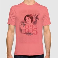 Pretty Moment Mens Fitted Tee Pomegranate SMALL