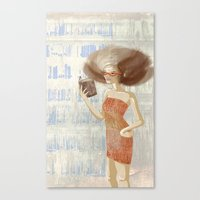 Librarian Canvas Print