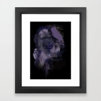 Watercolour Girl Framed Art Print