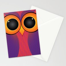 The Curious Owl Stationery Cards
