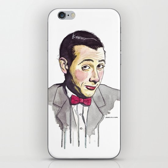Pee Wee iPhone & iPod Skin