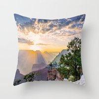 Grand morning Arizona! Throw Pillow