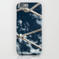iPhone & iPod Case featuring Nautical rope by Eltina Giannopoulou