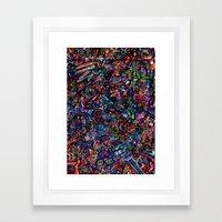 Alien Skin Framed Art Print