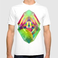 Mars Mens Fitted Tee White SMALL