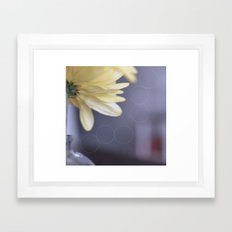 Yellow Daisies Framed Art Print