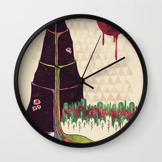 Holy Mountain Wall Clock