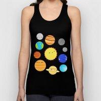 The Solar System Unisex Tank Top