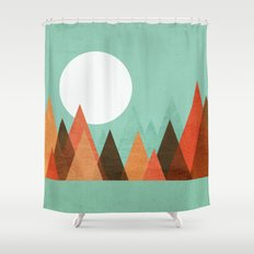 From The Edge Of The Mou… Shower Curtain