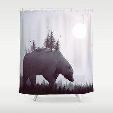 The Wanderer Shower Curtain