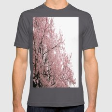 cherry blossoms Mens Fitted Tee Asphalt SMALL