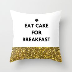 Kate Spade - Cake for Breakfast Throw Pillow