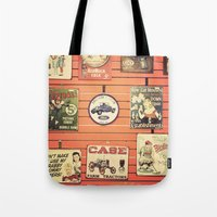 Vintage Signs Tote Bag