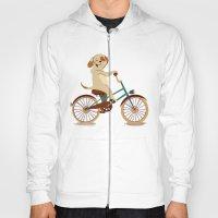 Puppy On The Bike Hoody