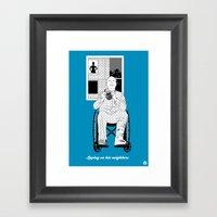 Alfred #4(Cameo One Shot) Framed Art Print
