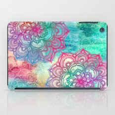 Round & Round the Rainbow iPad Case