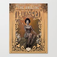 The Amazing Tattooed Lad… Canvas Print