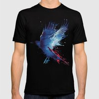 Bloody Crow Mens Fitted Tee Black SMALL
