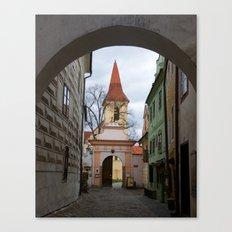 Little Town Czech Republic Canvas Print