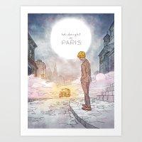 Midnight in Paris Art Print