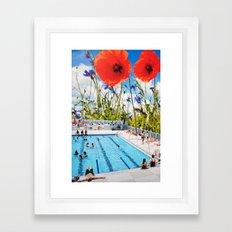 Poppy Pool Framed Art Print
