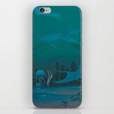 THE DOME - Fantasy | Animals | underwater | Ocean | Sci-fi | Whales | Ocean  iPhone & iPod Skin