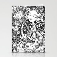 Weeping Widow Stationery Cards