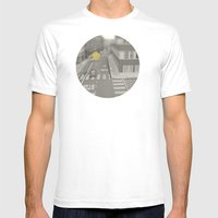 Dots//Seventeen  Mens Fitted Tee White SMALL
